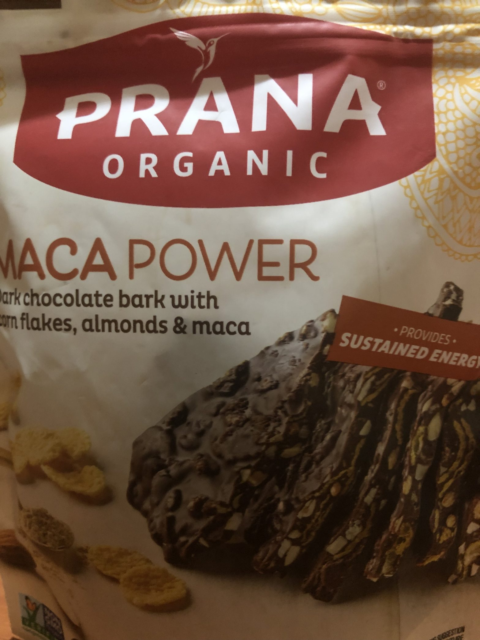 Maca Chocolate snack