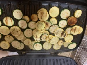 Squash and Zucchini on the Foreman Grill