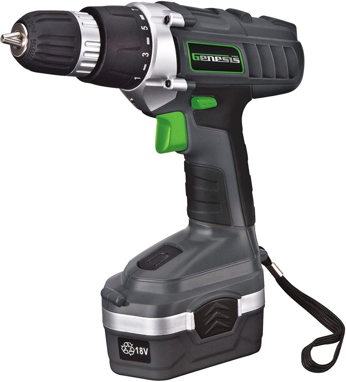 Genesis 18 Volt Drill